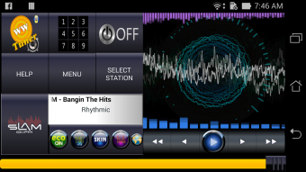 WWTuner radio player Screenshot