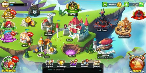 Mighty Party: Heroes Clash screenshot 6