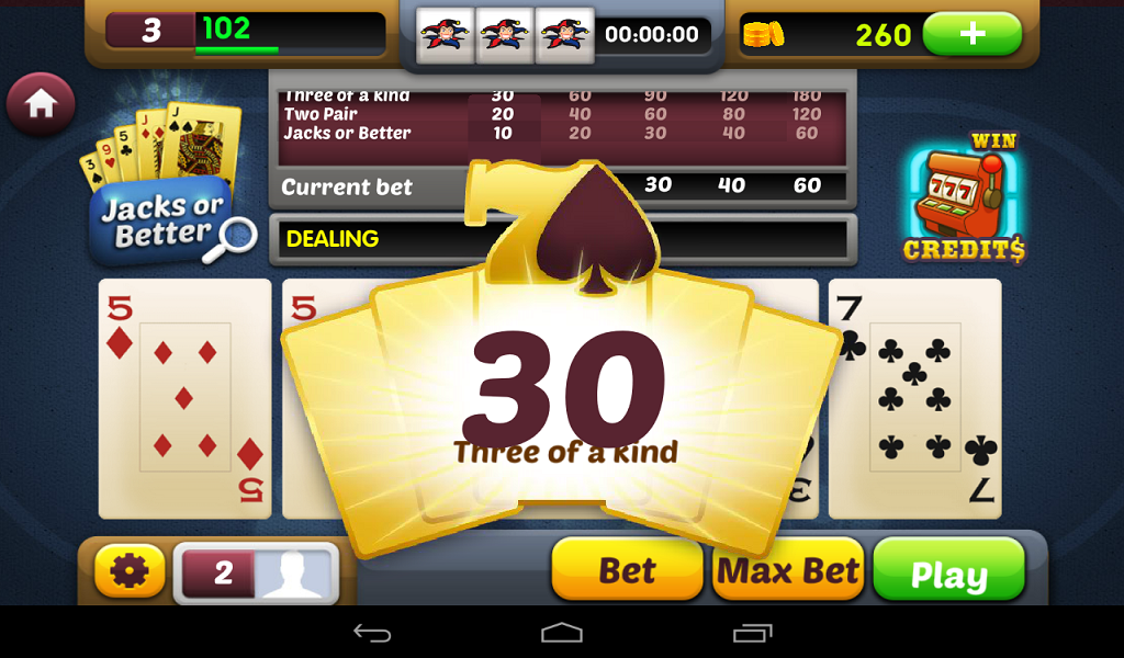 Free online video poker slot machines no download jim daly artist poker