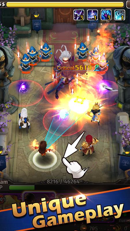Hyper Heroes: Marble-Like RPG screenshot 2