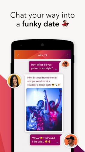 Application pour flirter – Alice and Ann