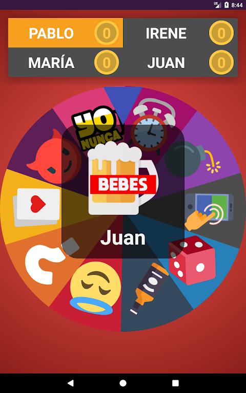 Ruleto - Verdad o Reto, Yo Nunca, Juego para beber screenshot 1