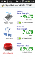 Signal Refresh 3G/4G/LTE/WiFi Screenshot