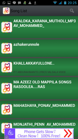 Islamic Mappila songs&karaoke 1 0 Download APK for Android