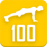 100 Pushups workout Icon