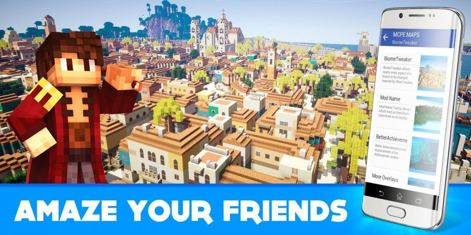 Best Maps For Minecraft PE Download APK For Android Aptoide - Minecraft maps fur android