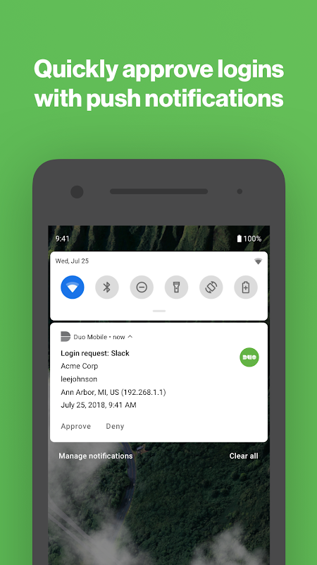 Duo Mobile screenshot 2