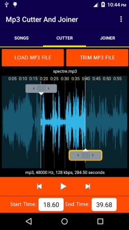 Fast Mp3 Cutter and Joiner 6 0 Download APK for Android - Aptoide