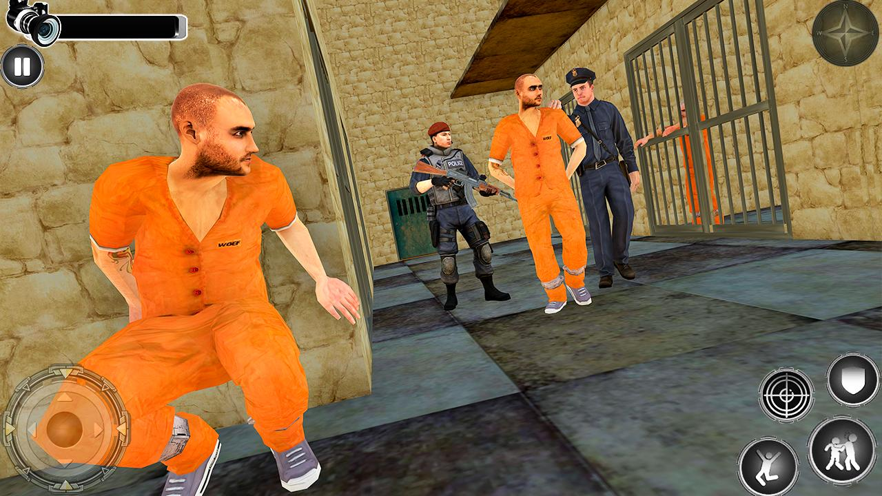 Great Jail Break Mission - Prisoner Escape 2019 screenshot 2