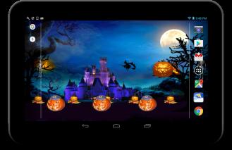 Halloween live wallpaper Screenshot
