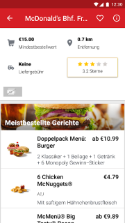 LIEFERHELD | Order Food screenshot 2