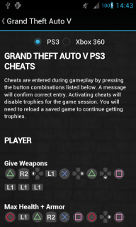 GTA Cheats - for all GTA games screenshot 8