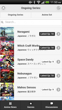 Zinccast Mobile App - Anime 0 2 3 Download APK for Android