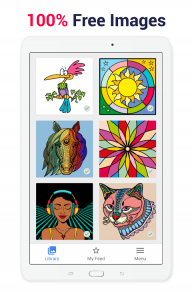 Paint by Numbers: New Colouring Pictures Book Free screenshot 8