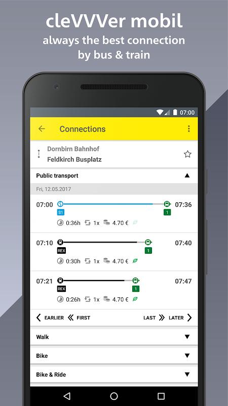 cleVVVer mobil screenshot 1