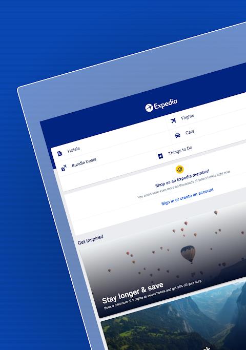 Expedia Hotels, Flights, Car Hires & Activities screenshot 1