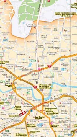 Varanasi Tourist Map Download APK For Android Aptoide - Varanasi map