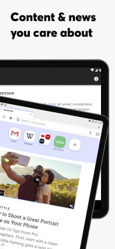 Opera Browser: Fast & Private screenshot 11