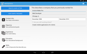 resume builder pro screenshot 8