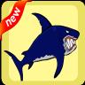 ไอคอน Flappy shark adventure .