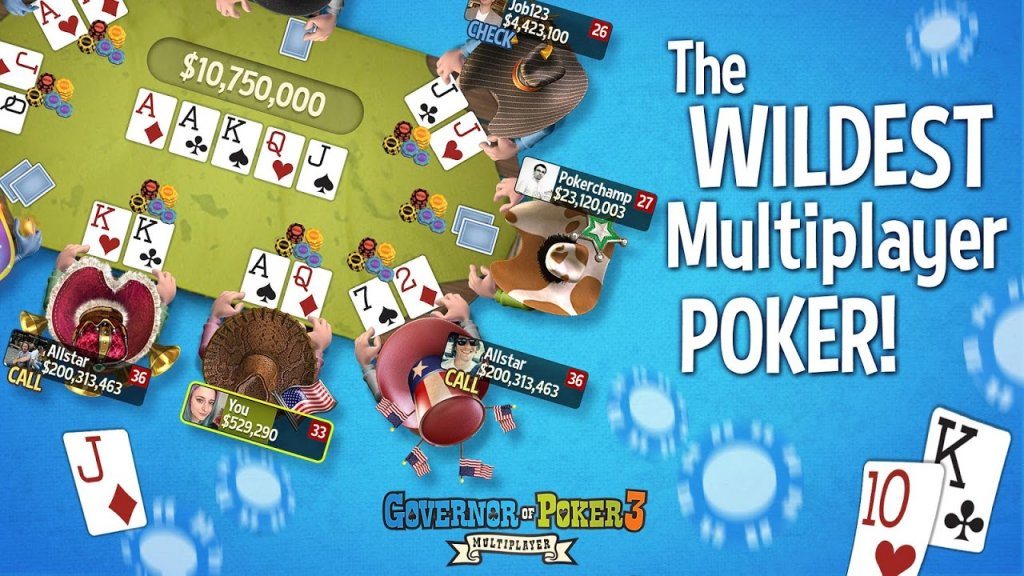 multiplayer texas holdem html5
