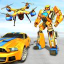 Drone Robot Car Game - Roboter verwandeln Spiele