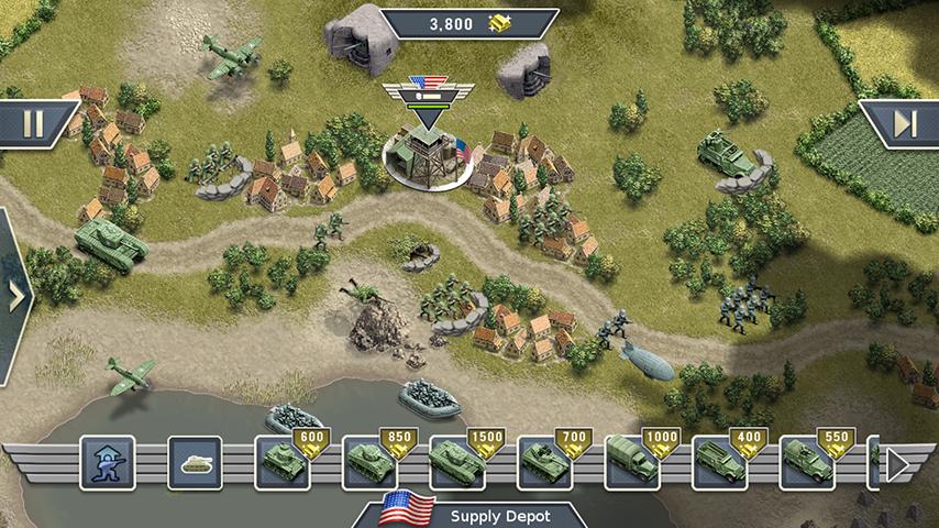 1944 Burning Bridges screenshot 1