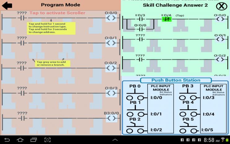plc simulator mechatronics plc ladder logic plc 1 5 download apk