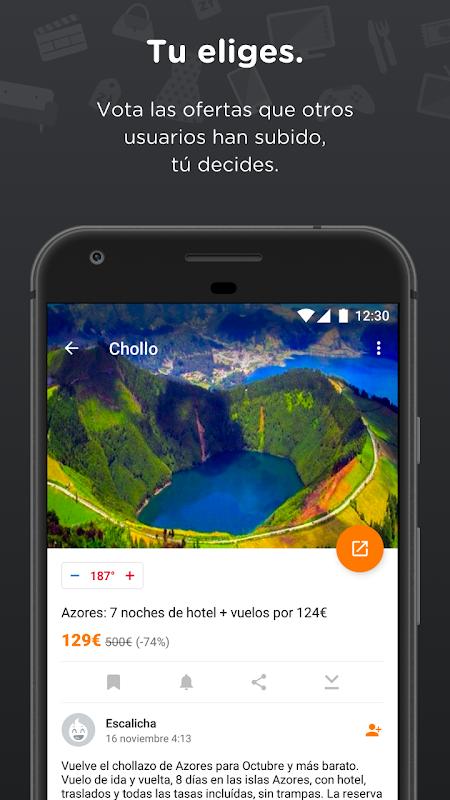 Chollometro – Chollos, ofertas y cosas gratis screenshot 2
