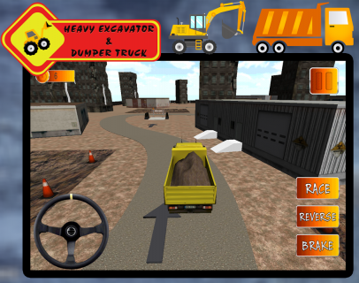 Heavy Excavator Dumper Truck 1 0 Download APK for Android - Aptoide