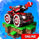 Blocky Cars - Online Shooting Games Icon