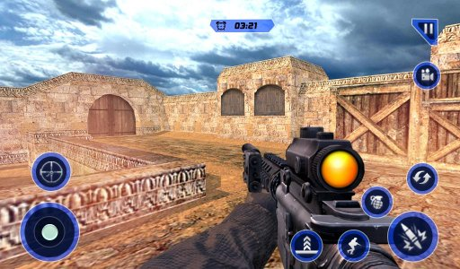 Army Counter Terrorist Attack Sniper Strike Shoot screenshot 2