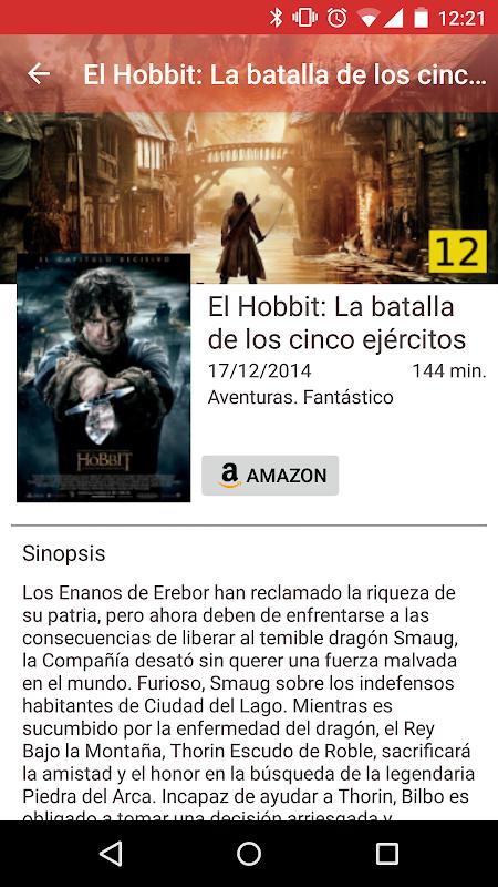 CarteleraApp Cine screenshot 1
