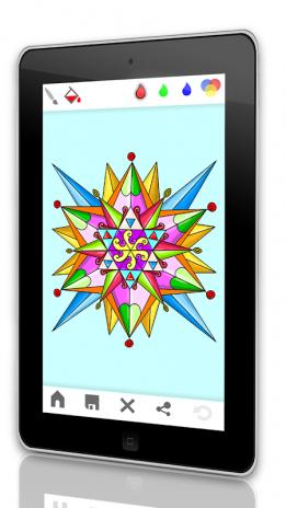 Yetişkinler Için ücretsiz Mandala Boyama Oyunu 20190129wall