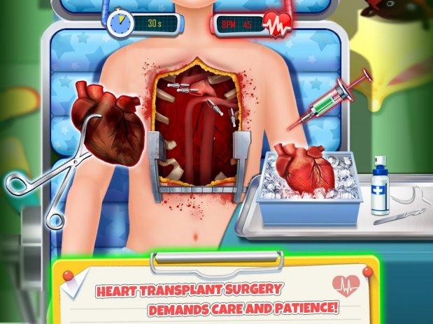 emergency er heart surgery doctor simulator games 1 0 download apk