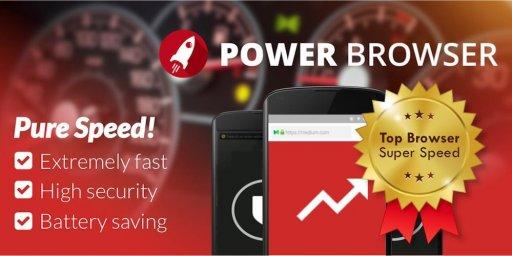 Power Browser - Fast Internet Explorer screenshot 1