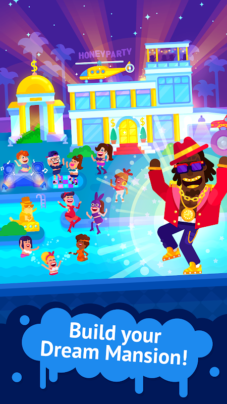 Partymasters - Fun Idle Game screenshot 2