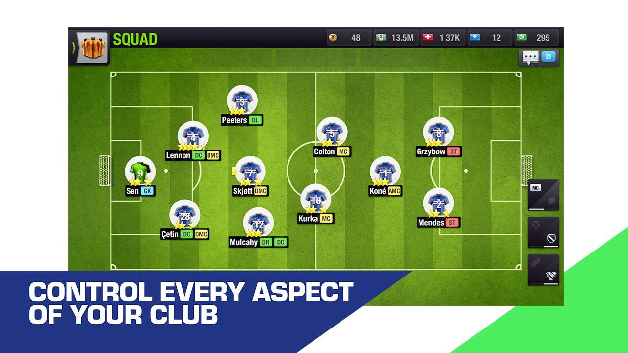 Top Eleven 2019 - Be a Football Manager screenshot 4