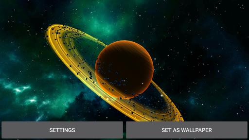 3D Solar System LWP screenshot 4