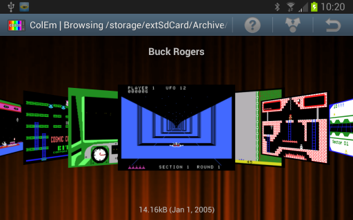 ColEm - Free Coleco Emulator screenshot 14