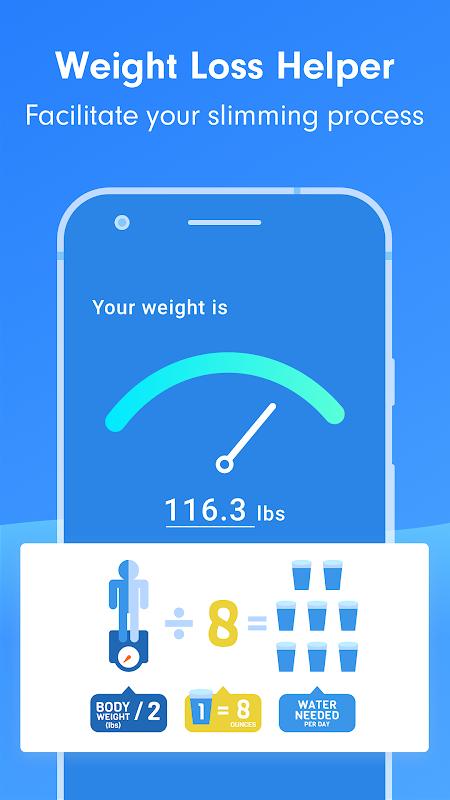 Drink Water Reminder:Weight Loss Helper screenshot 2