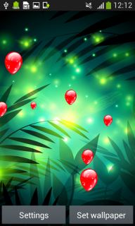 Fireflies Live Wallpapers screenshot 2