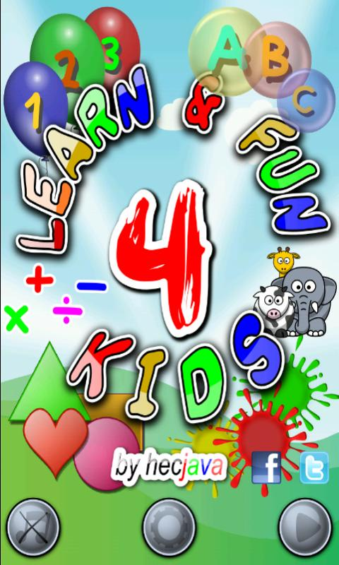 LEARN & FUN 4 KIDS screenshot 1