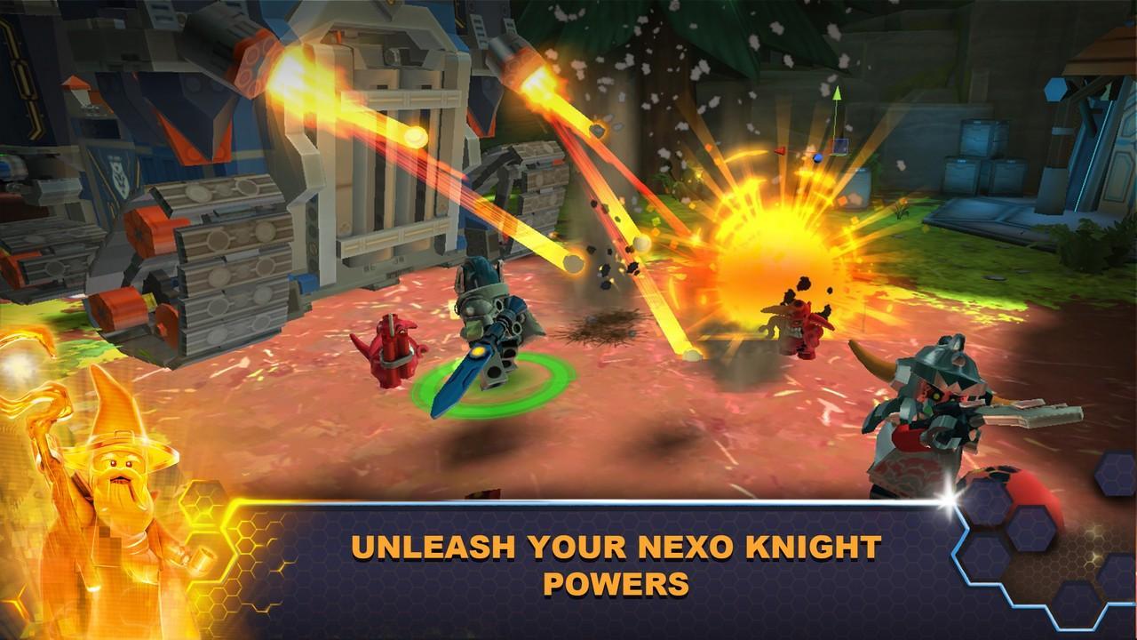 LEGO® NEXO KNIGHTS™:MERLOK 2.0 screenshot 1