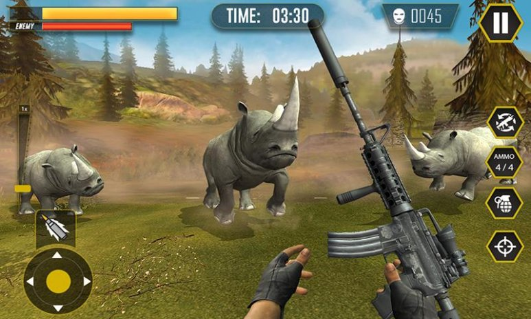 Wild Animals Hunter Safari Animal Hunting Games 1 2 Download APK for