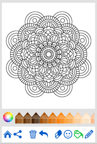 Mandala Coloring For Adults Screenshot 1 2