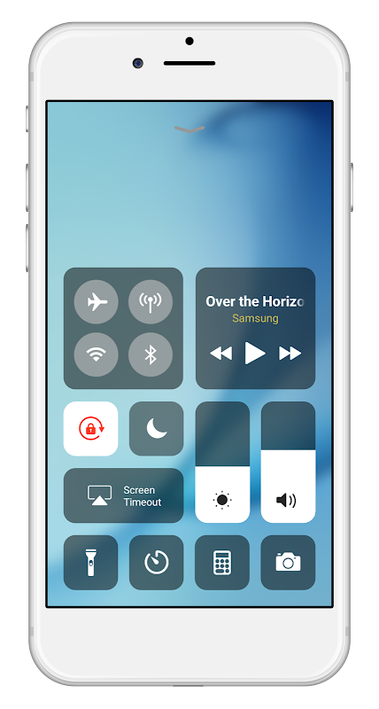 Control Center IOS 12 - Control Center screenshot 1