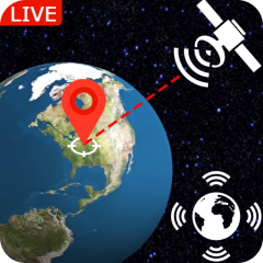 Live Earth Map Real Time: Satellite View GPS Track 1.2.1 Laden Sie on