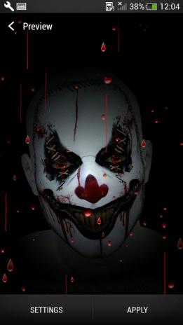 Evil Killer Clown Wallpaper Screenshot 5