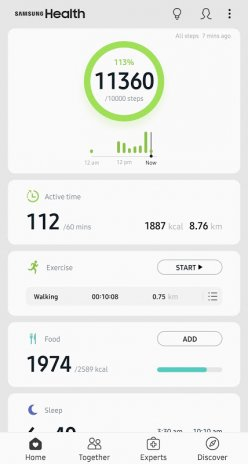 Samsung Health 6 6 0 029 Download APK for Android - Aptoide